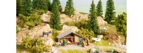 NOCH 12027 Weihnachts-Krippe mit 8 Figuren Fertigmodell 1:87 kaufen
