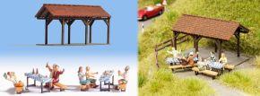 NOCH 12031 Gartenparty Fertigmodell Spur H0 kaufen
