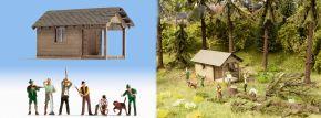 NOCH 12046 Waldarbeiten Fertigmodell Spur H0 kaufen