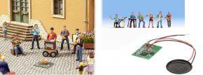 NOCH 12820 Sound-Szene Straßenmusiker mit Figuren und Lautsprecher Spur H0 kaufen