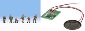 NOCH 12843 Sound-Szene Baumfällarbeiten mit Figuren und Lautsprecher 1:87 kaufen