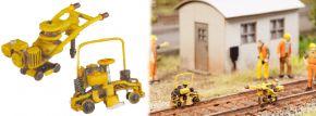 NOCH 13641 3D minis Gleisbauarbeits-Set Fertigmodelle Spur H0 kaufen