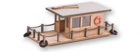 NOCH 14224 Hausboot | Laser-Cut minis Bausatz Spur H0 kaufen