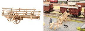 NOCH 14246 LaserCut minis Viehverladerampe fahrbar Bausatz Spur H0 kaufen