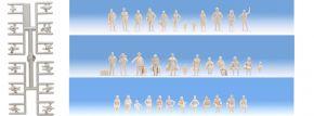 NOCH 14985 Unbemalte Figuren 72 Stück 1:87 kaufen