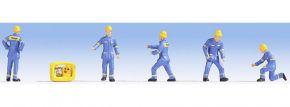 NOCH 15025 Figuren Technisches Hilfswerk 5 Figuren Spur H0 kaufen
