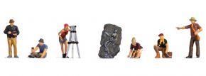 NOCH 15043 Archäologen | 7 Stück | Figuren Spur H0 kaufen