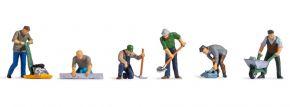 NOCH 15112 Straßenarbeiter | 6 Stück | Figuren Spur H0 kaufen