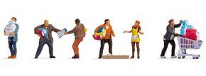 NOCH 15519 Menschen beim Hamsterkauf | 5 Stück | Figuren Spur H0 kaufen