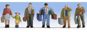 NOCH 15224 Reisende | 6 Miniaturfiguren | Spur H0 kaufen