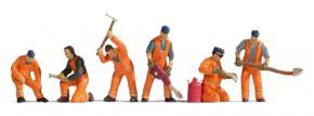NOCH 15276 Gleisbautrupp | 6 Miniaturfiguren Spur H0 kaufen
