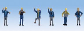 NOCH 36279 Rangierer Epoche III und IV  6 Figuren Fertigmodell 1:160 kaufen