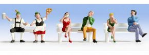 NOCH 15536 Sitzende Figuren 6 Stück Spur H0 kaufen