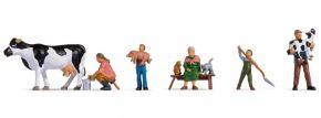 NOCH 15609 Bauernfamilie   6 Stück   Figuren Spur H0 kaufen
