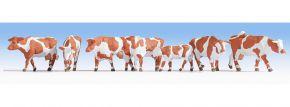 NOCH 15726 Kühe braun-weiß Figuren Spur H0 kaufen