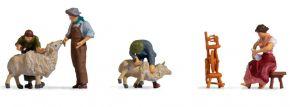 NOCH 15751 Schafe scheren | 4 Stück | Figuren Spur H0 kaufen