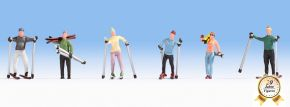 NOCH 15827 Skifahrer 6 Figuren Spur H0 kaufen