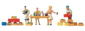 NOCH 15834 Getränkeausschank Figuren mit Zubehör | Spur H0 kaufen