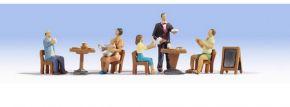 NOCH 15838 Restaurant Miniaturfiguren mit Zubehör Spur H0 kaufen