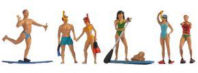 NOCH 15854 Wassersportler | 6 Stück | Figuren Spur H0 kaufen