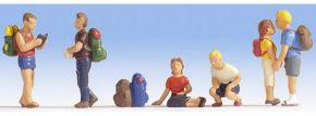 NOCH 15873 Wanderer | 6 Miniaturfiguren | Spur H0 kaufen