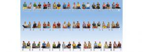 NOCH 16072 Mega-Spar-Set Sitzende Passagiere 60 Figuren ohne Beine Fertigmodell Spur H0 kaufen