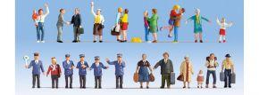 NOCH 16121 Figuren-XL Set Auf dem Bahnhof 24 Stück Spur H0 kaufen