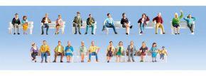 NOCH 16130 Figuren-XL-Set Sitzende 24 Stück Spur H0 kaufen