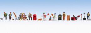 NOCH 16220 Themenwelt Wintertag Set | Figuren Spur H0 kaufen
