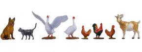 NOCH 17903 Tiere auf dem Bauernhof   Figuren Spur 0 kaufen