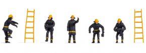 NOCH 18001 Feuerwehr | 5 Stück | Figuren Spur H0 kaufen