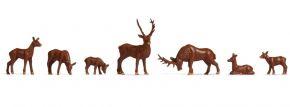 NOCH 18211 Hirsche | 7 Stück | Figuren Spur H0 kaufen