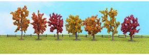 NOCH 25070 Herbst-Bäume | Höhe 80 mm bis 100 mm | 7 Stück | alle Spurweiten kaufen