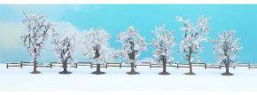 NOCH 25075 Winter-Bäume 80-100mm, 7 Stück, alle Spurweiten kaufen