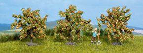 NOCH 25114 Orangenbäume 3 Stück 40mm hoch Spur H0 kaufen
