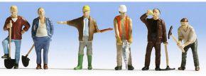 NOCH 36110 Bauarbeiter | 6 Miniaturfiguren | Spur N kaufen