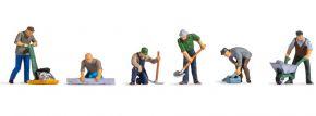 NOCH 36112 Straßenarbeiter | 6 Stück | Figuren Spur N kaufen
