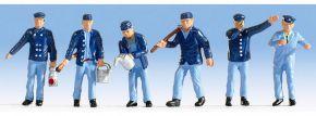 NOCH 36282 Lokführer + Rangierer | 6 Miniaturfiguren | Spur N kaufen