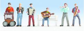 NOCH 36563 Straßenmusiker | 6 Miniaturfiguren | Spur N kaufen