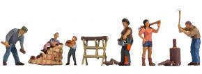 NOCH 36616 Holz machen | 6 Stück | Figuren Spur N kaufen