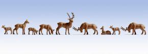 NOCH 36730 Hirsche | 9 Miniaturfiguren Spur N kaufen