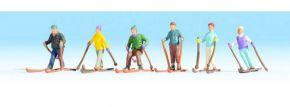 NOCH 36828 Skifahrer Miniaturfiguren Spur N kaufen
