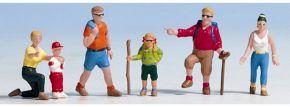 NOCH 36870 Wanderer | 6 Miniaturfiguren | Spur N kaufen