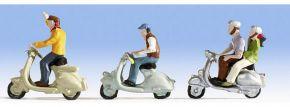 NOCH 36910 Motorrollerfahrer Figuren mit Zubehör Spur N  kaufen