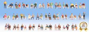 NOCH 37071 Mega-Spar-Set Sitzende Figuren ohne Bänke 60 Stück Spur N kaufen