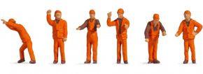 NOCH 38011 Rangierpersonal | 6 Stück | Figuren Spur N kaufen