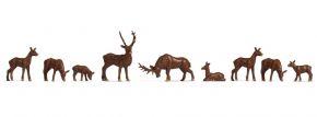 NOCH 38211 Hirsche | 9 Stück | Figuren Spur N kaufen