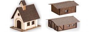 NOCH 44315 Kleingebäude-Set 3-teilig | Bausatz Spur Z kaufen