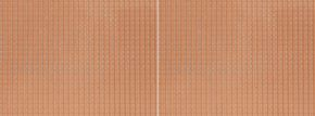 NOCH 60350 Dachpfanne, rot | 28 x 10cm | 3D-Strukturfolie | Spur H0 kaufen