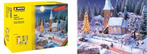 NOCH 60815 Perfekt-Set Winter-Landschaft Zubehörset für alle Spurweiten geeignet kaufen